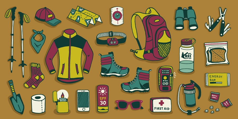 15 Đồ leo núi cần chuẩn bị. Địa chỉ mua Hà Nội TPHCM [List]
