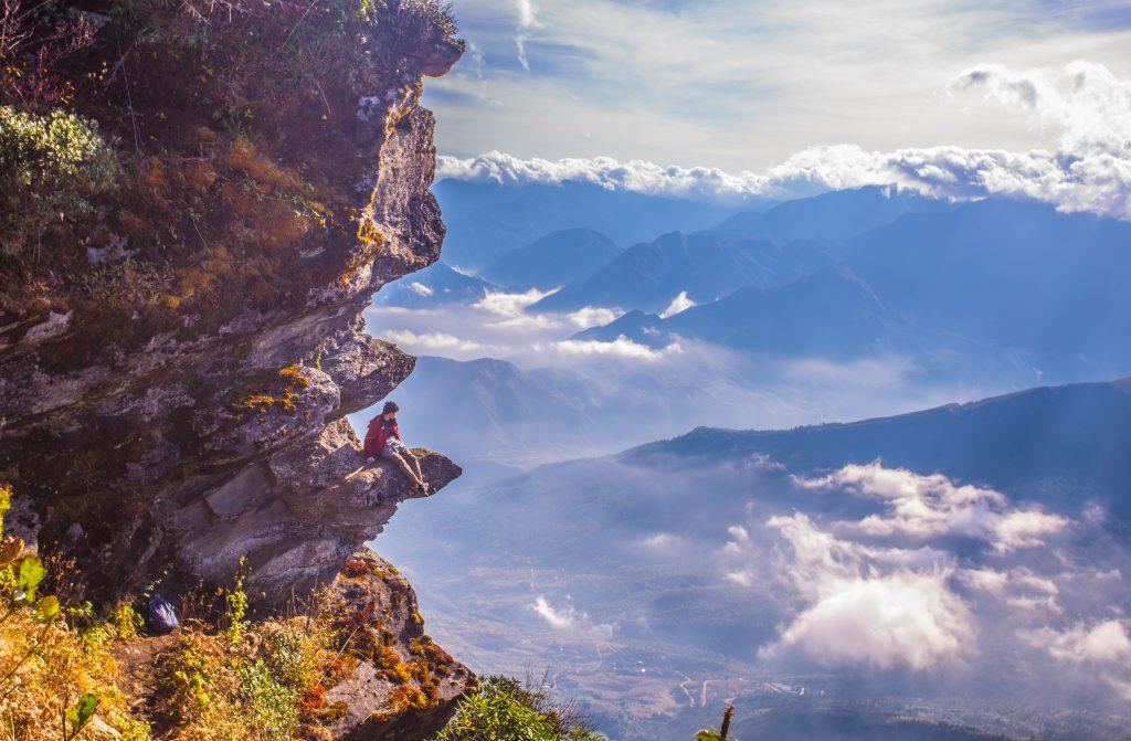 Khung cảnh hùng vĩ của núi rừng Lảo Thẩn
