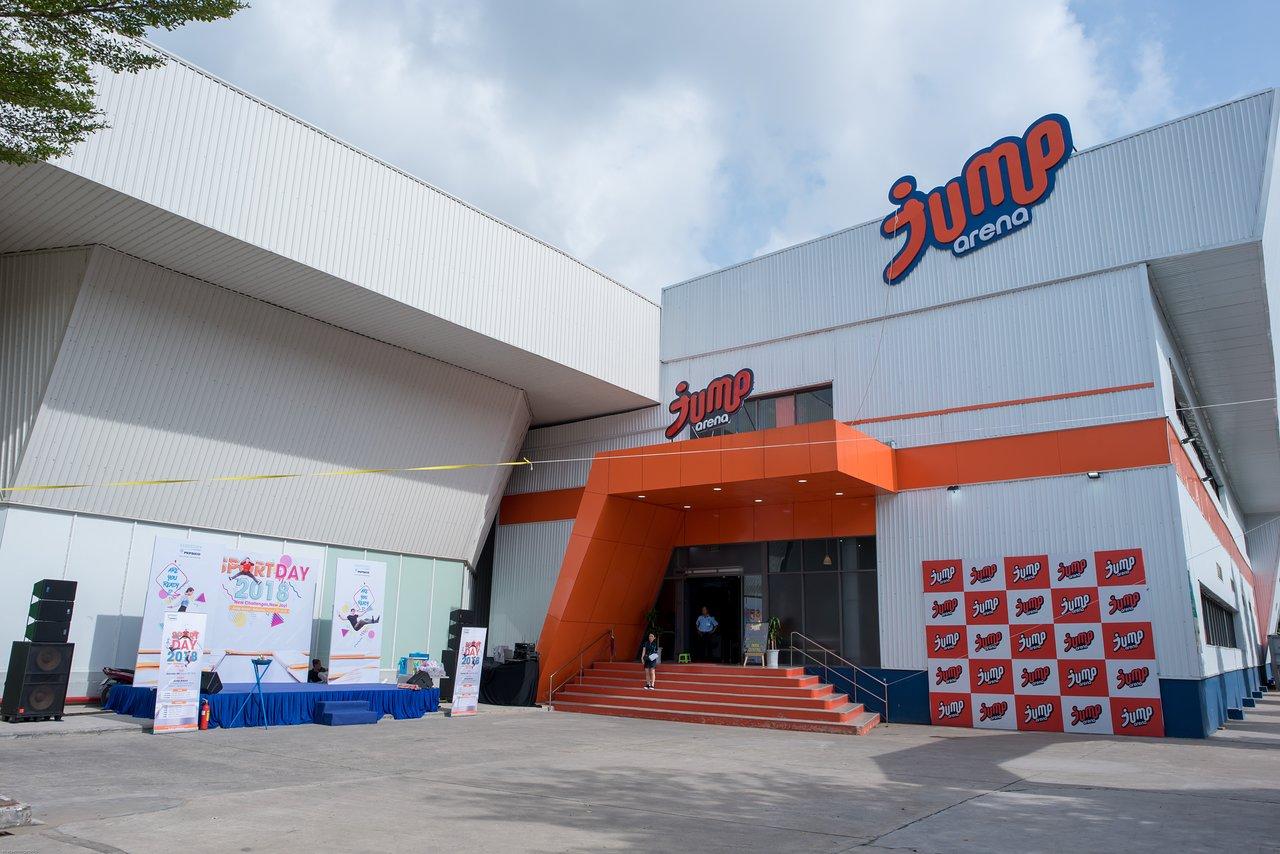 Cơ sở Jump Arena ở đường số 9, khu đô thị Him Lam,Tân Hưng, Quận 7