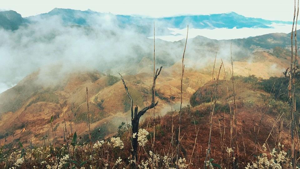 Khung cảnh thơ mộng ở núi rừng Lảo Thẩn