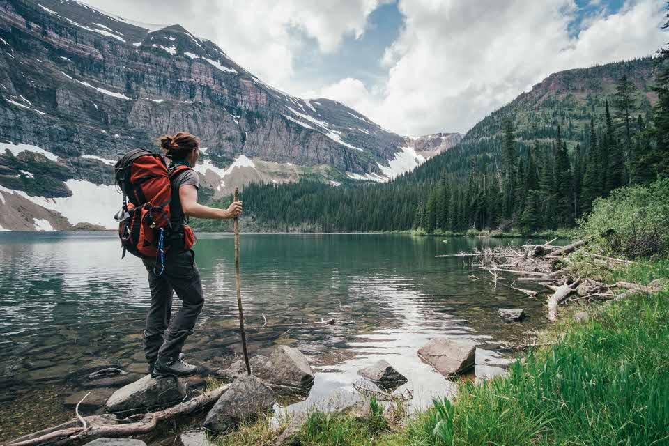 Trekking thường sẽ trải qua nhiều địa hình hơn