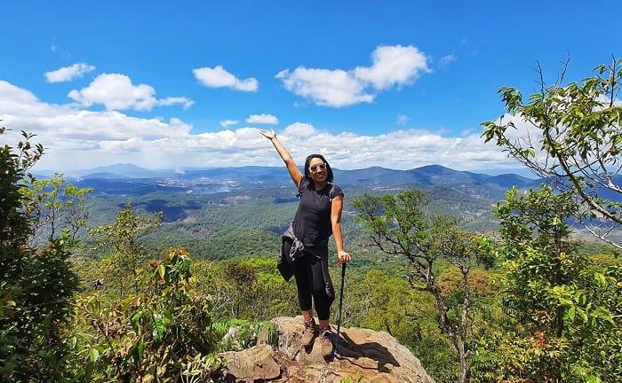 Trekking Bidoup khó không? Kinh nghiệm leo núi Bidoup Lâm Đồng chi tiết