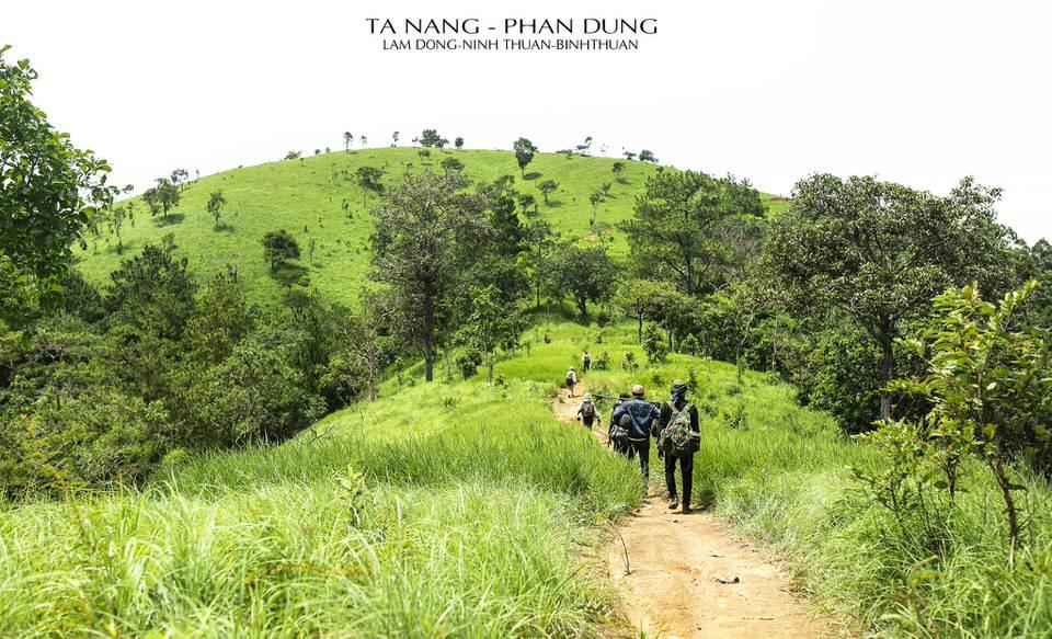 Con đường chinh phục Tà Năng Phan Dũng