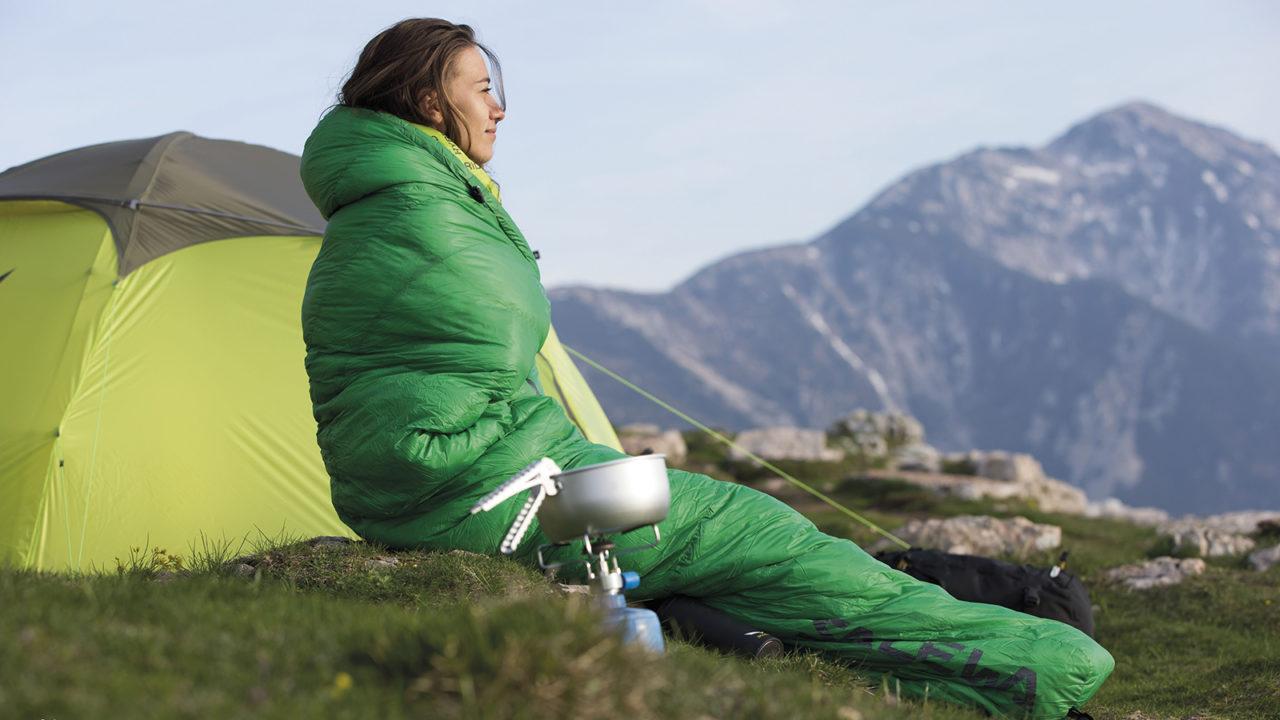 Túi ngủ giúp giữ ấm cho cơ thể