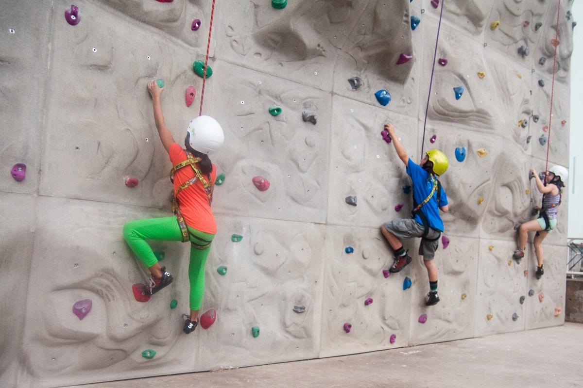 X-rock Climbing có những khu vực dành cho trẻ em