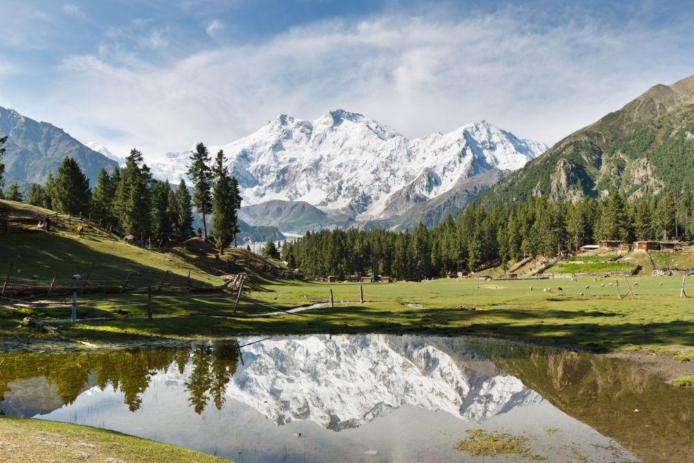 Quang cảnh ở ngọn núi Nanga Parbat
