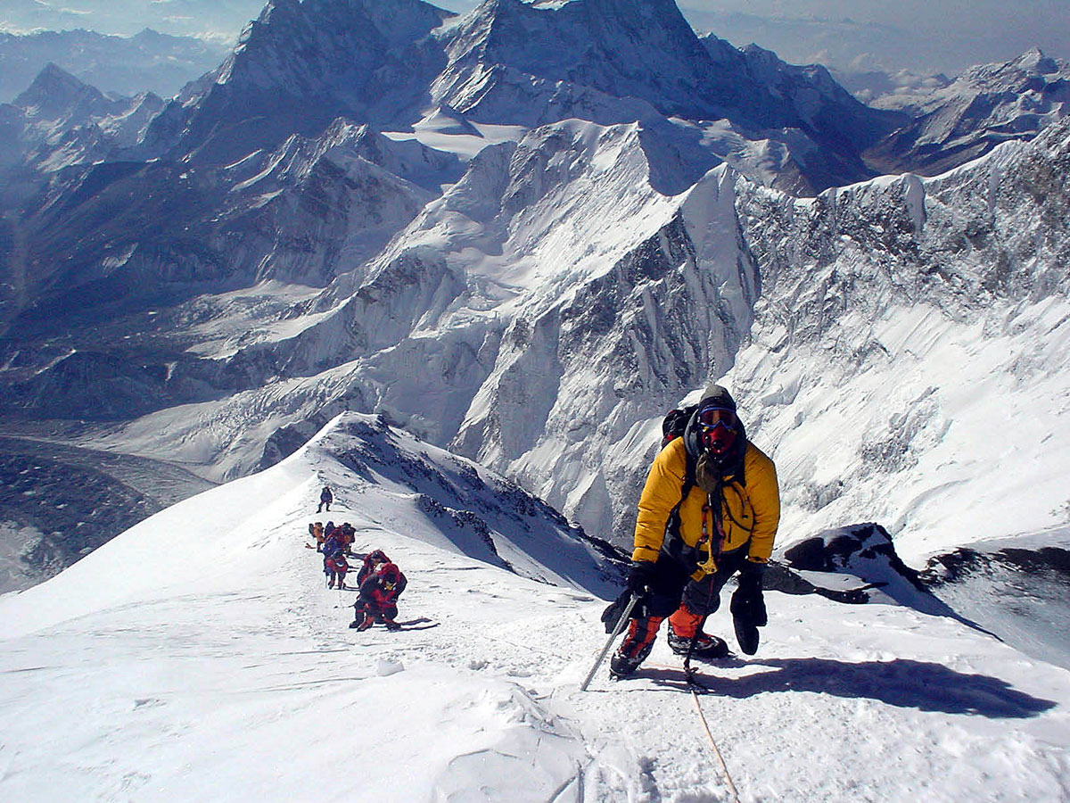 Quá trình leo núi Everest vô cùng nguy hiểm và gian nan